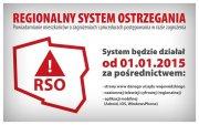 Regionalny System Ostrzegania - aplikacja na android